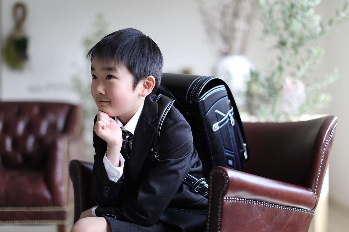 男前な入学写真