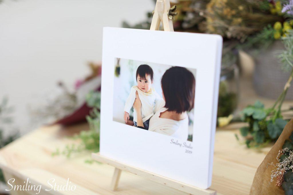 赤ちゃん写真の定番ベビーブック