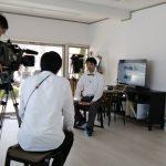 KHB東日本放送【チャージ!】の取材をうけました!
